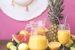 tropisk frukt arkivfoton