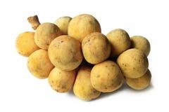 tropisk fruktlongkong Arkivfoto