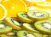 tropisk fruktplatta Royaltyfri Fotografi