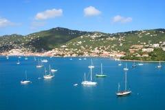 tropisk hamn Royaltyfri Fotografi