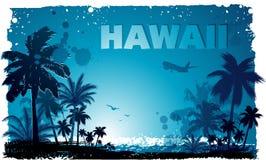 Tropisk hawaiansk bakgrund Arkivbild