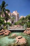 tropisk hotellsemesterort Arkivbilder