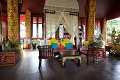 tropisk hotellsemesterort arkivbild
