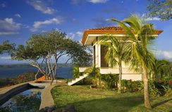 tropisk idyllisk reträtt Royaltyfria Bilder