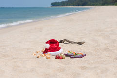 tropisk jul Arkivfoton