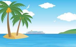 Tropisk kryssning Arkivbilder