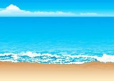 tropisk kust Arkivbild