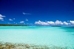 tropisk kustlinje Fotografering för Bildbyråer