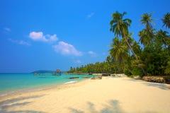 Tropisk lagun Royaltyfria Bilder