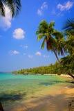 Tropisk lagun Royaltyfri Bild