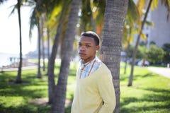 tropisk manmiami inställning Fotografering för Bildbyråer