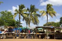 tropisk marknad arkivbilder