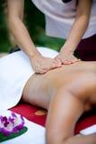 Tropisk massage fotografering för bildbyråer