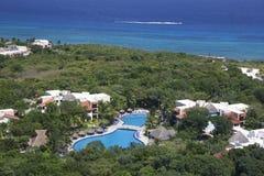 tropisk mexico semesterort Royaltyfria Bilder