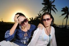 tropisk modesommar Fotografering för Bildbyråer