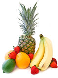 tropisk ny frukt royaltyfria bilder
