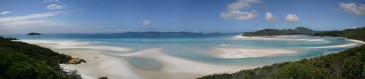 tropisk panorama Arkivfoto