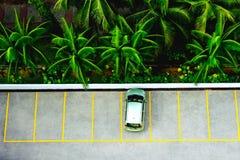 Tropisk parkering Arkivfoto