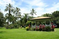 Tropisk pavillon - Townsville Arkivbilder