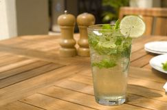 tropisk refreshment arkivfoto