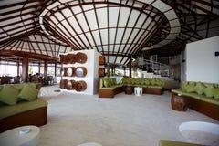 tropisk restaurang Fotografering för Bildbyråer