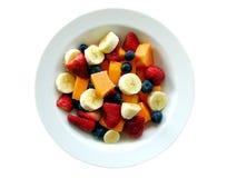 tropisk sallad för 2 frukt Arkivbilder