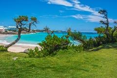 Tropisk Seascape Bermuda fotografering för bildbyråer