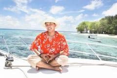 tropisk semester för ö Fotografering för Bildbyråer