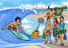 tropisk semester för plats Arkivfoton