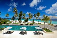 tropisk semesterort Royaltyfri Fotografi