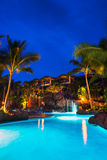 Tropisk semesterort Royaltyfri Bild