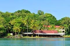 tropisk semesterort Arkivbilder