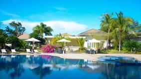 tropisk semesterort royaltyfri foto
