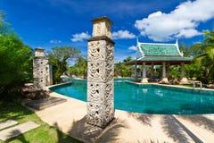 Tropisk semesterort i Thailand Royaltyfri Fotografi