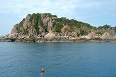 Tropisk semesterort på Ko Tao, Thailand Arkivfoton