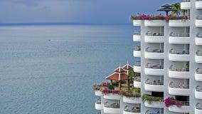 Tropisk semesterort, utomhus- sommar, Thailand royaltyfri bild