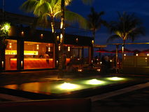 Tropisk semesterorthotellstång Bali 01 Royaltyfri Fotografi