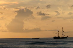 tropisk sikt för hav Royaltyfri Foto