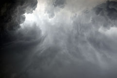tropisk storm royaltyfri fotografi