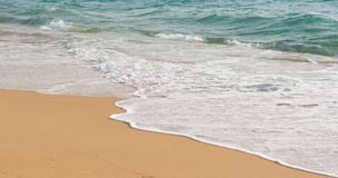 tropisk strandö Arkivfoto