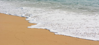 tropisk strandö Royaltyfria Bilder