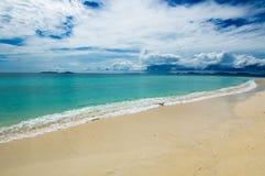 Tropisk strand Arkivfoto