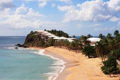 tropisk strand Royaltyfria Foton