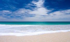 tropisk strand Arkivbilder