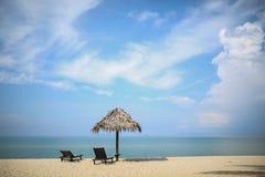 tropisk strand royaltyfria bilder