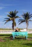 tropisk strand Royaltyfri Fotografi