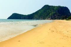 Tropisk strand för landskap Arkivfoton