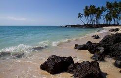 Tropisk strand (Hawaii/USA) Royaltyfria Foton