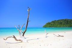 Tropisk strand, koh Rok för Andaman hav Royaltyfria Foton