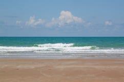 Tropisk strand, naturseascape Royaltyfria Bilder